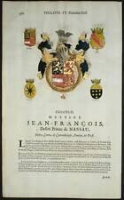 JEAN FRANCOIS PRINCE DE NASSAU et DON FRANCOIS CAETANO