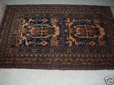 Persian Beluchi wool rug handmade,  tight weave