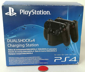 Original Sony Playstation 4 Ladestation   Dual Charger   Charging Ladegerät OVP