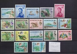 ! Dominica 1963-1967.  Stamp. YT#159/175. €60.00!