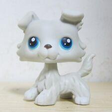 Littlest Pet Shop Animals LPS #363 Blue Eye Collie Dog Figure Toys E5