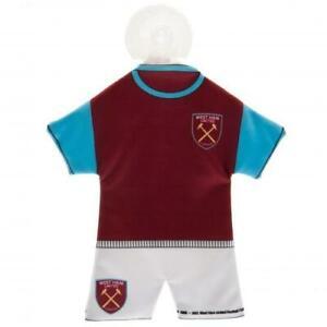 West Ham United Football Club Car Mini Cloth Home Kit Hanger With Sucker WHUFC