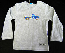 LIEF! Lifestyle Shirt Langarm Longsleeve Gr 74 Auto Print Grau Stoer BA-229