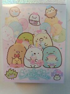 Sumikko Gurashi San-X Notepad Kawaii Cute 2xpatterns, 100xnotes from Japan
