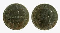 pcc2131_15) Vittorio Emanuele II  (1861-1878) 10 Centesimi 1862 M
