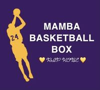 MAMBA BASKETBALL BOX: ROUND 2 ~ AUTO/RELIC, RC, HOF, STARS ~ MYSTERY💜💛KOBE💛💜