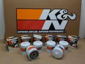 SIX K&N HP-2004 Wrench-Off OIL FILTERS fit NISSAN DODGE JEEP RAM VOLVO LandRover