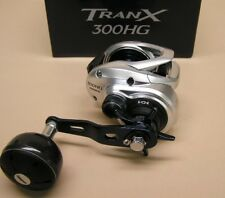 Shimano TranX 300HG Low Profile Baitcasting Reel 7.6:1 Model TRX-300AHG
