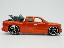 Chevrolet Silverado Orange 1/64 Scale Diecast Collectible Hot Wheels