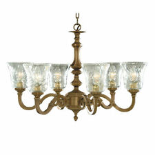 Brass Antique Style 4-6 Ceiling Chandeliers
