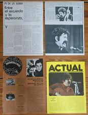 PI DE LA SERRA coleccion prensa 1970s fotos cancion catalana cataluña revista