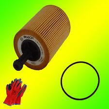 Original BOSCH Ölfiltereinsatz 1457429192 P9192 +Gratis Handschuhe