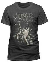 Official Star Wars A New Hope T-Shirt Darth Vader Storm Trooper Movie Merch