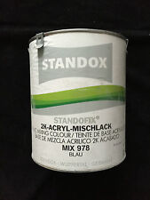 Standox-standofix 2k-acrílico-mischlack Mix 978-azul - 3,5 litros