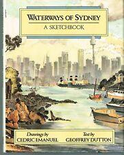 Waterways Of Sydney A Sketchbook Cedric Emanuel Geoffrey Dutton HC 1988