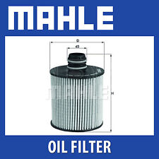 MAHLE Oil Filter - OX779D (OX 779D) - Genuine Part