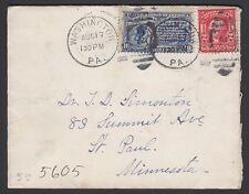 U.S 1906. Special Delivery RPO, E6, Blairstown N.J Charlestown, MA