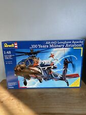 Revell of Germany 80-4896 1:48 Ah-64D Longbow Apache 100 Yrs Aviation Helicopter