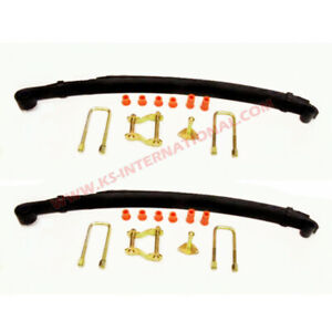Pair of Front Leaf Springs With Kits For Toyota Hilux LN106  / LN105 (5 leaves)