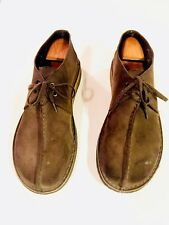 Clarks Men's Desert Trek Original Suede Chukka Ankle Boots Black 10.5 M