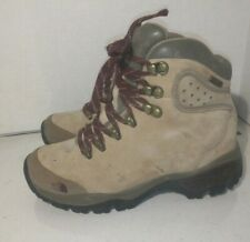 The Nort Face Brown Suede Hiking boots Womens Size 6