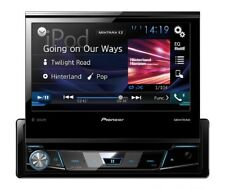 PIONEER avh-x7800bt 1-din Moniceiver USB DVD BLUETOOTH mp3 aux FLAC touchscreen