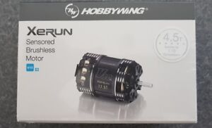 HOBBYWING XERUN  SENSORED V10 G3 BRUSHLESS MODIFIED RACE MOTOR 4.5T