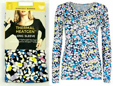 M&S Ladies Heatgen Thermal Long Sleeve Round Neck T-Shirt Top Soft Warm Layering