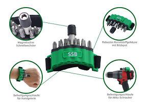 Superbit, Bithalter mit Befestigungsschlaufe für Akkuschrauber und Handgelenk
