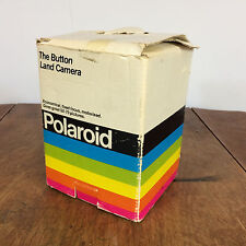 Minty Working Vintage 80s Polaroid The Button Instant Land Camera Photography