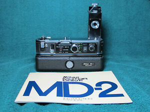 Nikon MD-2 MB-1 Motordrive System For F2 F2AS F2S F2A F2SB TESTED WITH FILM!