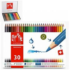 Matite colorate Caran D'Ache 30 pastelli Fancolor/NUOVO