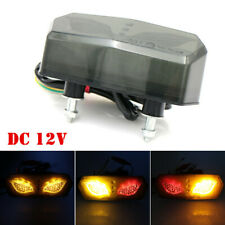 Universal Motorcycle 12V Brake Rear Tail Light LED License Plate Cornering Lamp