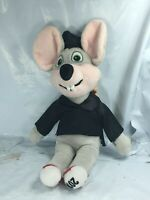 "Chuck E Cheese Graduation Plush Doll Mouse W Diploma 2016 Stuffed Animal 11"" FS"