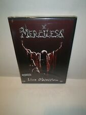 MERCILESS Live Obsession DVD 2-disc FACTORY SEALED NEW 2004 Escapi USA upc mark