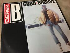 "DEREK B - GOOD GROOVE - R&B HIPHOP - 12"" VINYL RECORD DJ"