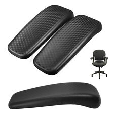 2pcs Office Chair Armrest Pad Parts Elbow Arm Caps Flat Replacement Cushion DIY