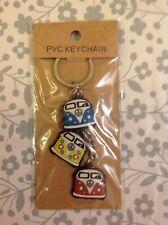 Triple Campervan Keyring Volkswagen VW Christmas gift