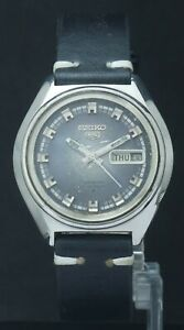 Vintage Seiko 5 Men's 21J Automatic 6119 Day/Date Original Dial Condition Watch