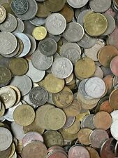 5 KILOS OF WORLD COINS JOB LOT OF UNSORTED AND UNCHECKED BULK RANDOM COINS