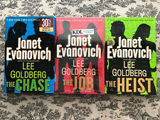 Janet Evanovich And Lee Goldberg 3 Book Set- The Chase, The Job, And The Heist