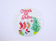 North Pole Plate Cookies for Santa By Coton Colors
