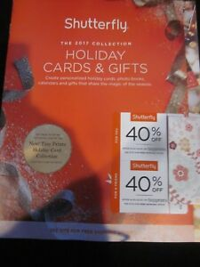 Shutterfly Shutter Fly Catalog The 2017 Collection Holiday Cards Gifts Brand New