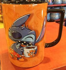 Stitch Mug I Don't Do Mornings Coffee Cup Disney World Theme Parks 2017