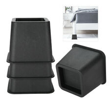 "4Pcs/set 3"" Furniture Raisers Adjustable Bed Chair Riser Wide Feet Lift Stands"