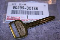 Toyota Metal NON-Transponder Blank Key Set of 2  Genuine OEM    90999-00186