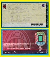 BIGLIETTO STADIO G. MEAZZA (SAN SIRO) MILANO 06/11/2005 MILAN-UDINESE + OMAGGIO
