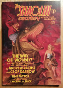 THE SHAOLIN COWBOY ADVENTURE MAGAZINE #1 BY VACHSS~ DARK HORSE TPB