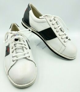 Brand New nXt Tenpin Bowling Leather Lace Up Shoes Mens Size 10.5
