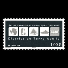 TAAF 2018 - Logos of French South and Antarctic Territory - MNH